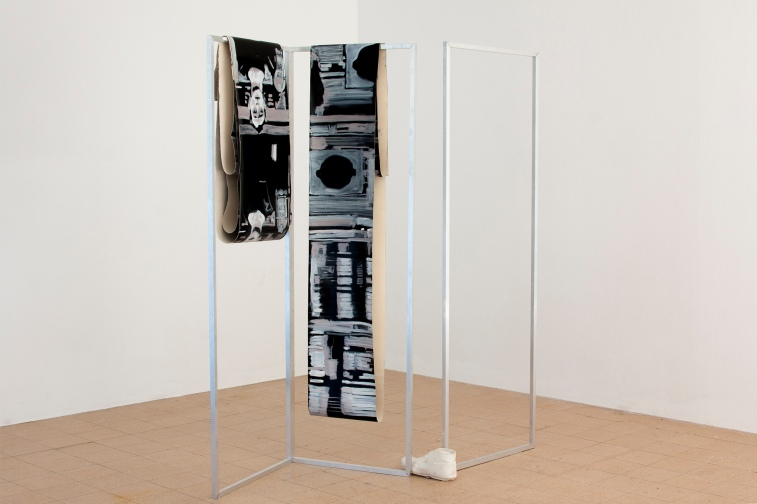 Untitled (Peter) installation view